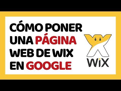 Cómo Poner mi Página Wix en Google 2018 | Cómo Usar Wix 2018