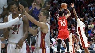 DeMar DeRozan Back to Back 40 Point Games! Raptors vs Heat