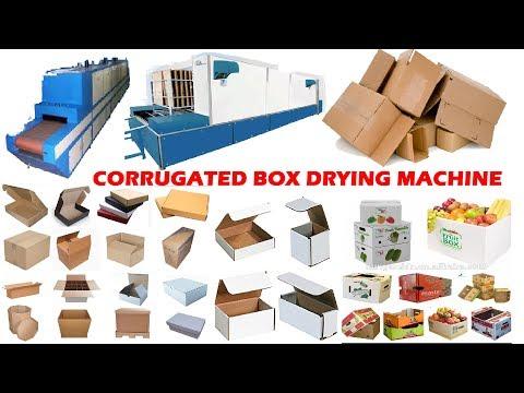 CORRUGATED BOX DRYING MACHINE