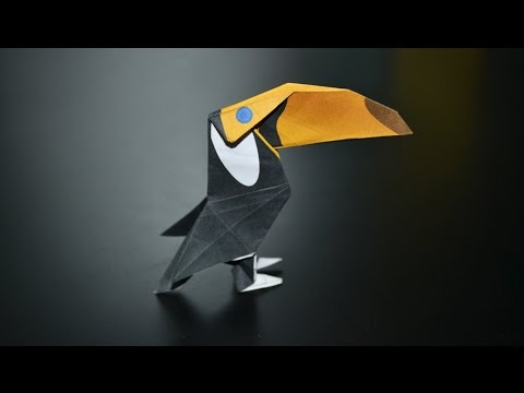 Origami: Toucan - Instructions in English (BR)
