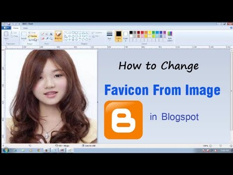 How to Create Favicon From Image For Blogspot