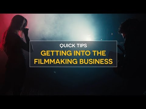 How to get work in the Film Industry!