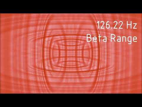 Pure 126.22 Hz Beta Range Binaural Beats [30 min]