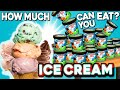 How Much ICE CREAM Can You Eat People Vs Food