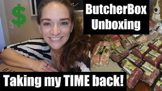 Butcher Box : 🐄🐖Unboxing \u0026 Review : Meat by Mail : Saving 💲💰💲 and 12 HOURS a month!!!