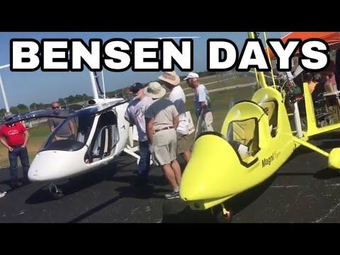 Bensendays Gyrocopter Autogyro Gyroplane Event Wauchula Florida 2018