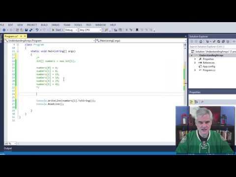C# 10: Creating Arrays of Values in C#