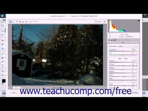 Photoshop Elements 13 Tutorial Opening a Copy of the Camara Raw File in the Editor Adobe Training