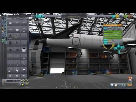Building a simple jet in Kerbal Space Program PS4