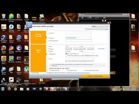 How to make a oovoo account