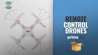 Remote Control Drones Prime Day Deals: Super Toys Flip & Rotation Drone 6 Axis Gyro Headless Mode -