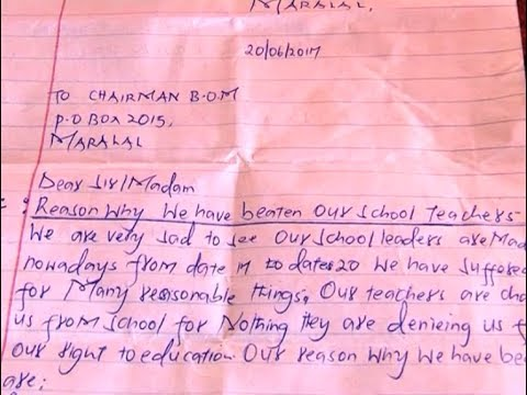 Class six pupils cane and injure teachers, parents at Kirimon primary school Samburu East