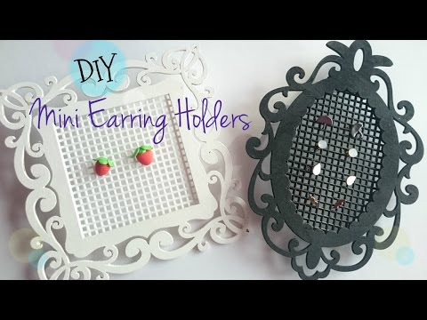 DIY Mini Earring Holder