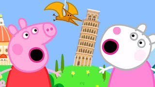 Peppa Pig Official Channel - Peppa Pig and Suzy Sheep Visits the Tiny Land!