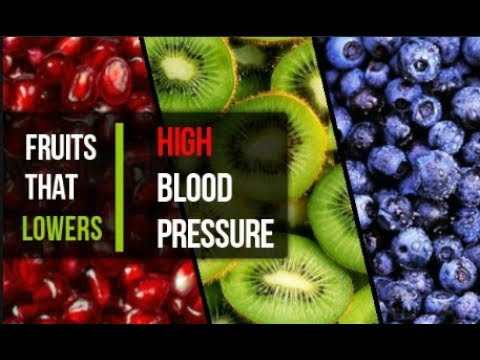 Fruits That Lowers High Blood Pressure | Fruits for High Blood Pressure