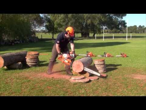 395XP 100cc big bore ported Husqvarna - Largest Chainsaw