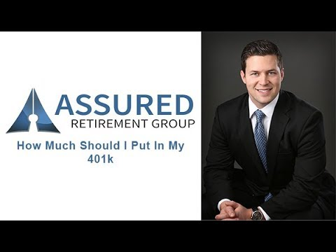 How Much Should I Put In My 401k | Assured Retirement Group
