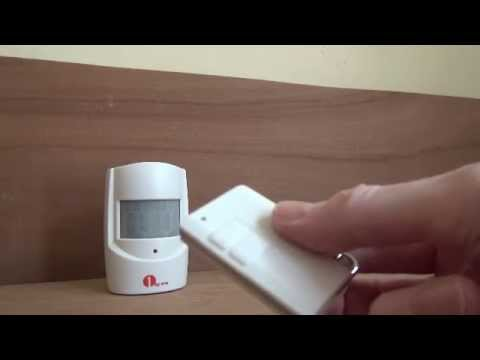 1Byone Safety Driveway Patrol Infrared And Wireless Home Security Alert Alarm System O00QH 0251