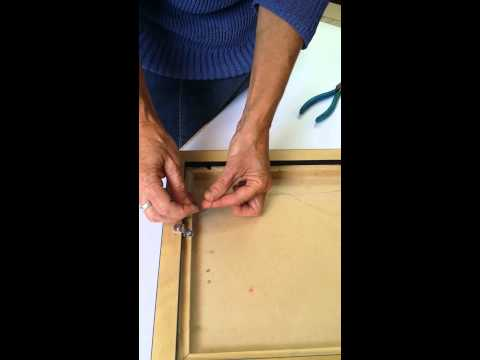 How To Wire Your Frame For The Fmopa Members Show Picture Frame
