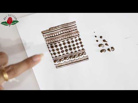 Practice 1 : Practice and learn  simple and intricate mehendi elements with me