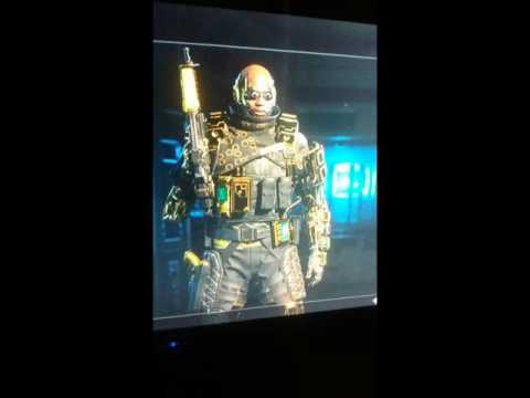 Black ops 3 ~ all 9 characters gold! ~ hero gear