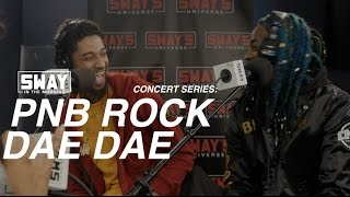 PnB Rock and DaeDae Perform Live on Sway in the Morning