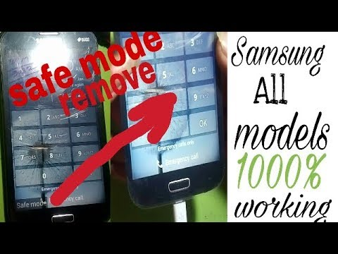 Safe mode /how to remove/ Sanmsung all models 1000% woreing