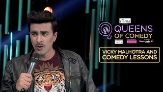 Vicky Mentors The Queens Of Comedy
