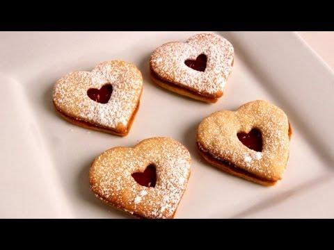 Linzer Cookies - Recipe - Laura Vitale - Laura in the Kitchen Episode 311