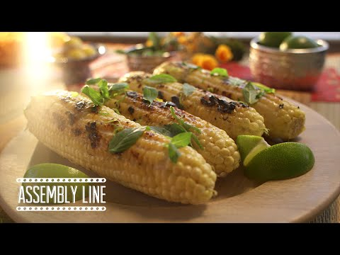 Coconut Grilled Corn | Assembly Line