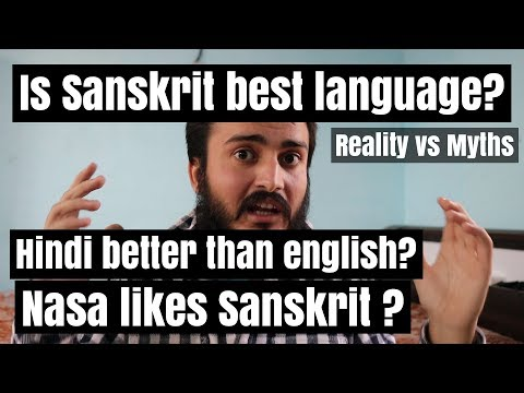 Is sanskrit the most scientific language or best language for computers ?