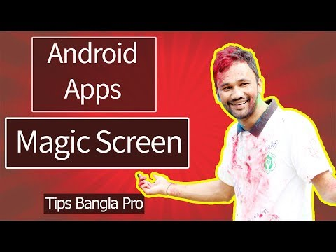 Android Magic Screen apps create with thunkable