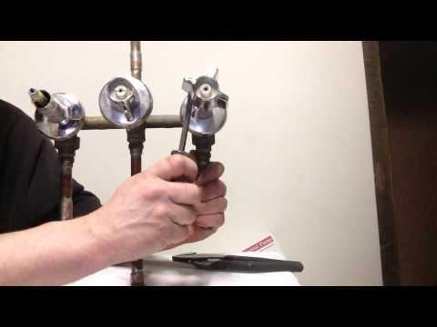 DIY bathtub faucet seat removal and repair part 1