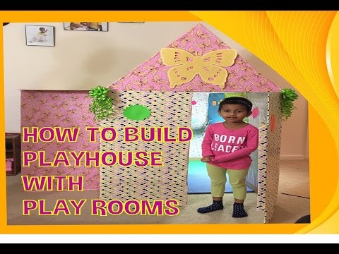 Kids Playhouse | World's Best Cardboard Play House