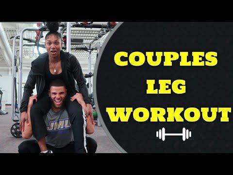 COUPLES CRAZY LEG DAY!