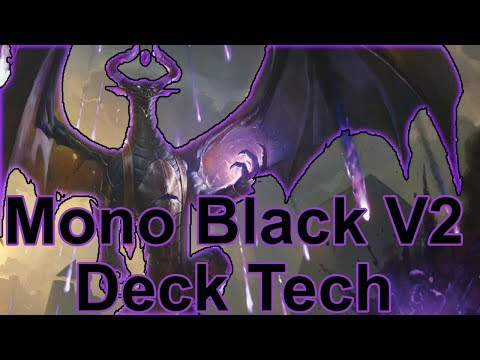 MTG Arena: Mono Black Deck Tech and Gameplay (7-1) (thanks to Odisho1)