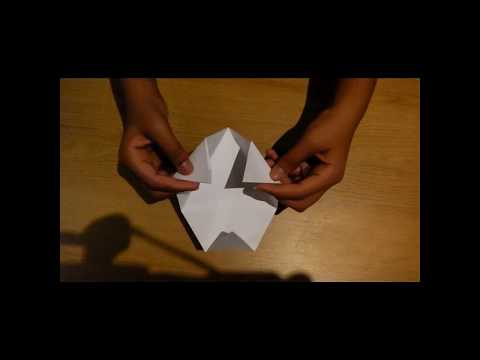 How to make a triangular based pyramid with the top cut off origami