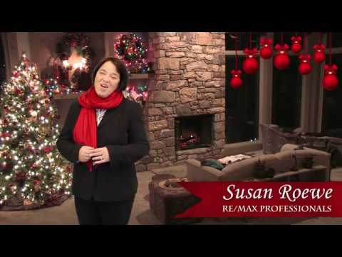 Merry Christmas & Happy Holidays from Susan Roewe with RE/MAX Professionals