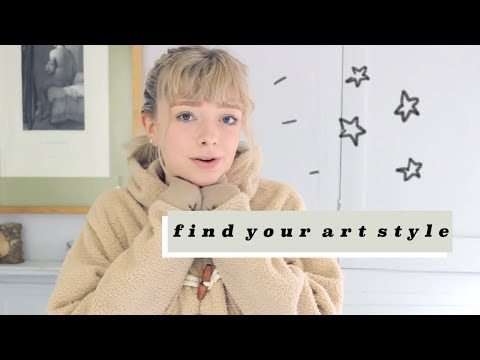 how to find your art style ☆彡