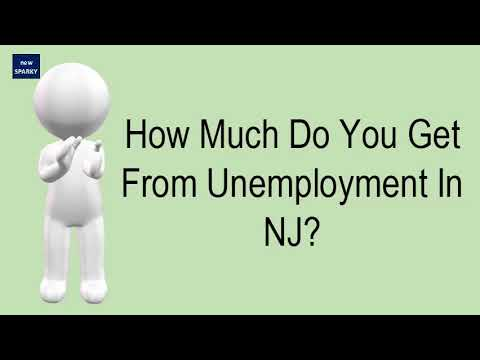 How Much Do You Get From Unemployment In NJ?