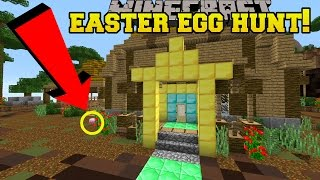 Minecraft: EASTER EGG HUNT!!! - Custom Map