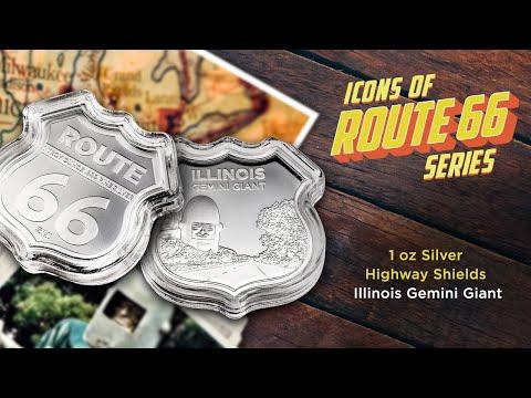 Icons of Route 66 Series – Illinois Gemini Giant