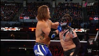 #WWETLC The Demon Finn Bálor vs. AJ Styles WWE TLC: Tables, Ladders and Chairs