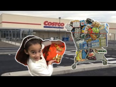 *Huge Costco shopping HAUL! * UK Weekly shopping Video- hundreds of pounds spent! Bowie Family Vlogs