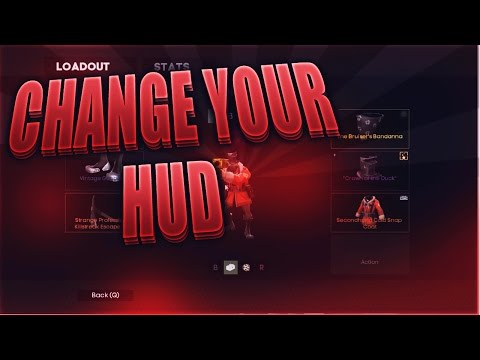 TF2 - How To Install A Hud + The Hud I use!
