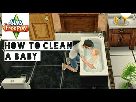 How to Bathe a Baby | Sims FreePlay