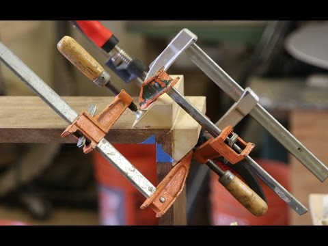 Easy Way To Glue Up Miters