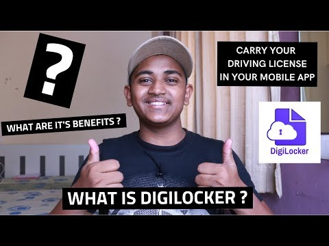 What is Digilocker | How to USE | Get Your Digital License and Vehicle RC in Your Mobile |