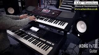 Korg PA700 vs Yamaha PSR S770 Direct Voice Comparisons