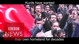 Turkey & Kurds: Explained in 70 seconds - BBC News